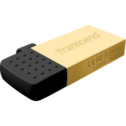PEN DRIVE 8GB TRANSCEND 380G OTG GOLD
