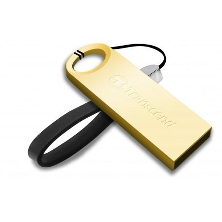PEN DRIVE 16GB TRANSCEND 520G GOLD PLAT