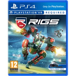JOGO PS4 RIGS MECHANIZED COMBAT LEAG VR