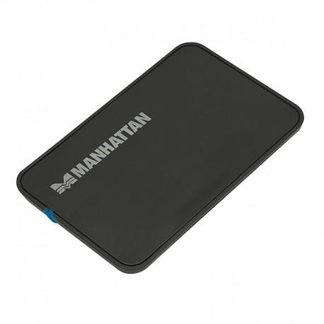 CAIXA EXTE.HDD 2.5' SATA USB 2.0 AL/BLK