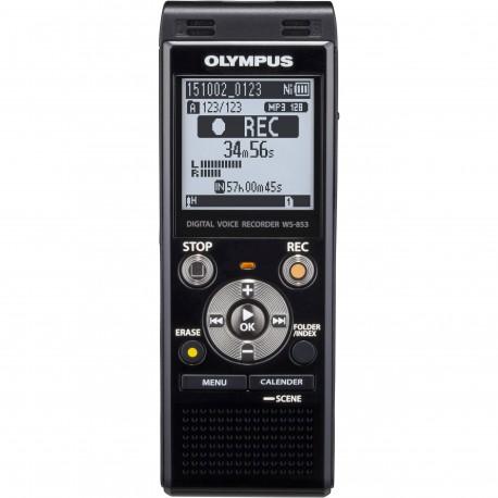 GRAVADOR OLYMPUS WS-853 BLACK 8GB