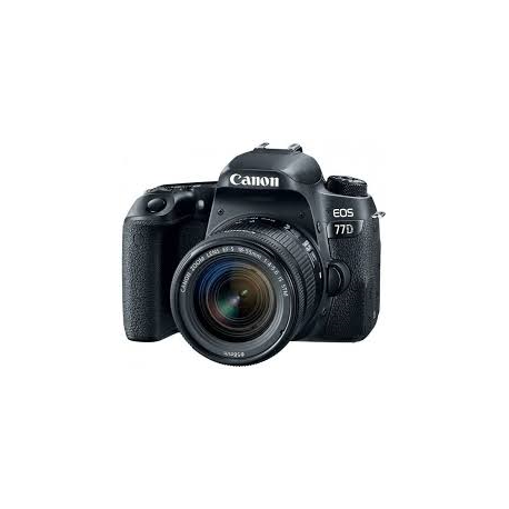 MAQ FOT CANON EOS 77D EF-S 18-55 IS STM