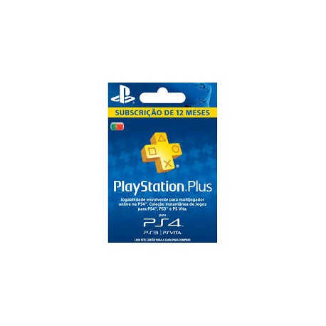 PLAYSTATION PLUS CARD PS4 365 DIAS