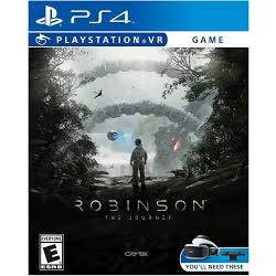 JOGO PS4 ROBINSON: THE JOURNEY VR