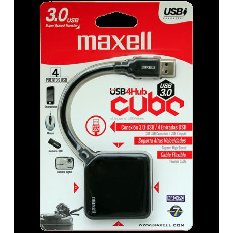 HUB MAXELL USB 3.0 430 4-PORT 347645