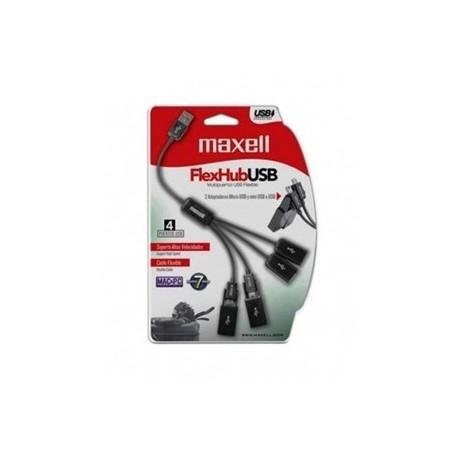 HUB MAXELL FLEX 4-PORTA USB C/ADT 347214