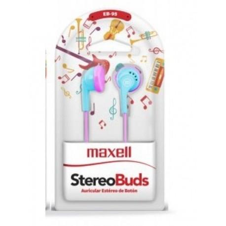 IN EAR MAXELL EB-95 BLU/PINK 347842