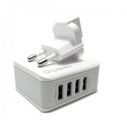 CARREGADOR USB 4-PORTAS 4.4A