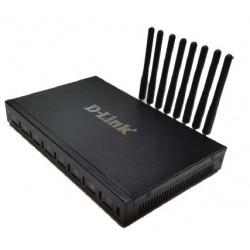 GATEWAY VOIP 10/100MBPS C/4 PORTAS GSM INTEGRADAS