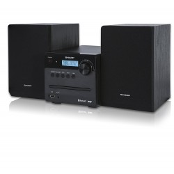 MICRO SISTEMA DE SOM DAB FM/BT/CD/MP3/USB 30W PRETO