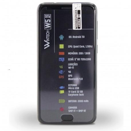 SMARTPHONE 5' PLUS 4G 16+2 DUAL SIM PRETO