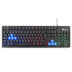 TECLADO LED LIGHTS GAMING GKX-300