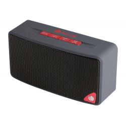 COLUNA COM BLUETOOTH 3W USB FM RADIO CINZA