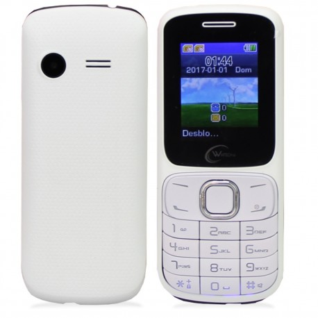 TELEMOVEL WINTECH 2G DUAL SIM BT/MP3 WTH