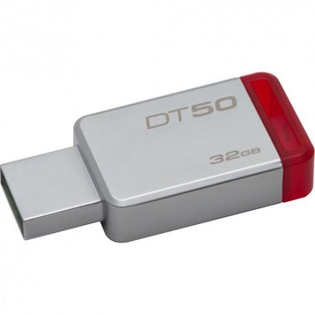 PEN DRIVE 32GB DT50 3.0 RED KINGSTON