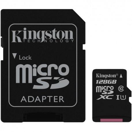 CARTÃO DE MEMÓRIA 128GB CL10 C/ADAPTADOR