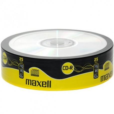 CD R80 52X PK/25 MAXELL