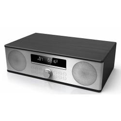 HI FI CD/FM BT 2X15W BLACK WOOD