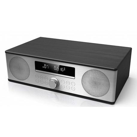 HI FI SHARP CD/FM BT 2X15W BLACK WOOD
