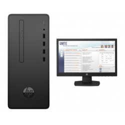 "COMPUTADOR 290 MT I3-8100 4GB 500GB W10P + MONITOR 20"""
