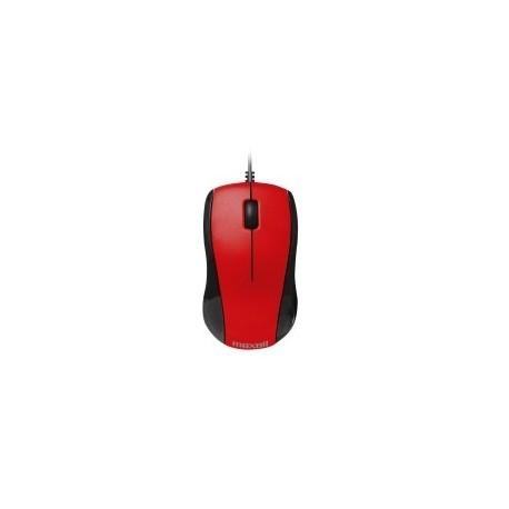 RATO OPTICAL COM FIO USB 101 VERMELHO 347286