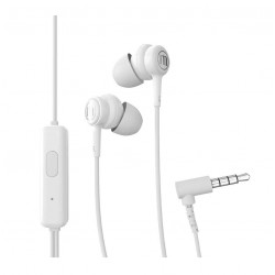 IN-EAR MAXELL EB STEREO W/MIC WHT