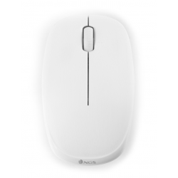 RATO OPTICO WIRELESS 1000DPI 2.4GHZ FOG BRANCO