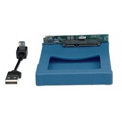 CAIXA DE DISCO 2.5'' SATA USB 2.0 AZUL