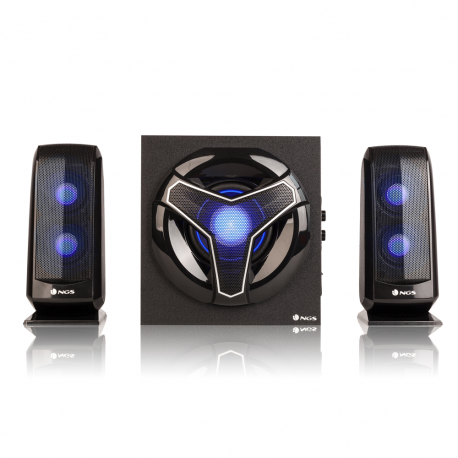 COLUNA NGS 2.1 GSX-210 GAMING 80W WITH LIGHTS