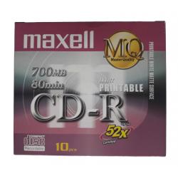 CD R80 52X CX/10 911388