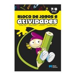 BLOCO DE JOGOS E ACTIVIDADES - 7/8 ANOS