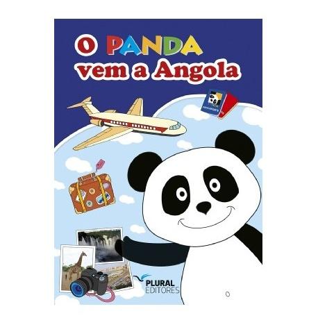 LIVRO O PANDA VEM A ANGOLA