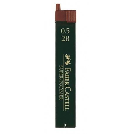 MINAS F-CASTELL 0.5HB (1/12)