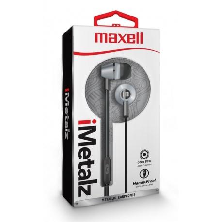 IN-EAR MAXELL EB METALLIC SILVER 347954