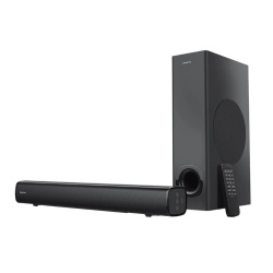 COLUNAS 2.1 SOUND BAR STAGE PRETO