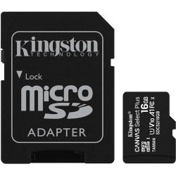 CARTÃO DE MEMÓRIA MICRO SD 16GB CL10 100R COM ADAPTADOR
