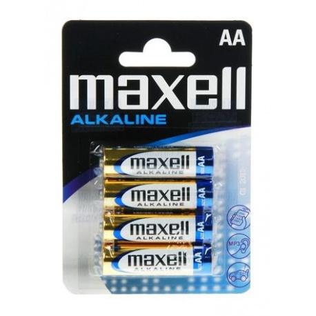 PILHA AA LR6 CX/6 MAXELL ALKALINE
