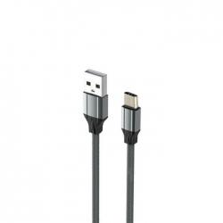 CABO USB PARA USB-C 1M CINZENTO