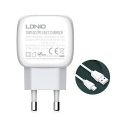 CARREGADOR QC3.0 PD USB MICRO