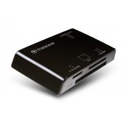 LEITOR CARTÕES USB 3.0 AIO TRANSCEND