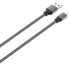 CABO USB PARA MICRO-USB 1M CINZA