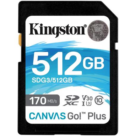 MOD SD CARD 512GB CL10 KINGSTON 170R GO! PLUS