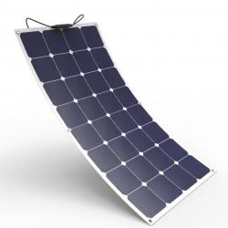 PAINEL SOLAR 100W SEMI FLEXÍVEL (LAMINAÇÃO ETFE)