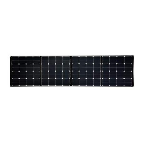 PAINEL SOLAR 200W DOBRÁVEL CONECTORES:SAE/MC4/Anderson