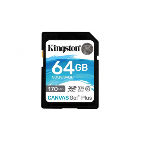 CARTÃO DE MEMÓRIA SDXC 64GB CL10 170R