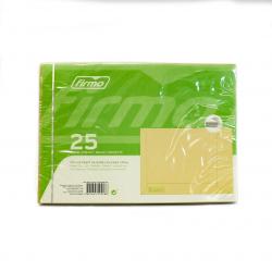 ENVELOPE SACO C5 SILICONE 162X229MM PK25 (1/20)