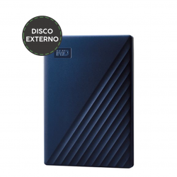 "DISCO EXTERNO 2.5"" 2TB MY PASSPORT PARA MAC AZUL"