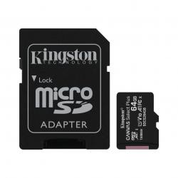 CARTÃO DE MEMÓRIA 64GB CL10 100R COM ADAPTADOR