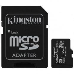 CARTÃO DE MEMÓRIA 32GB CL10 100R COM ADAPTADOR