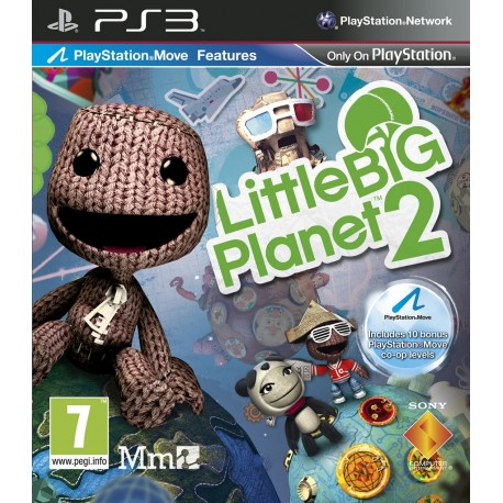 JOGO PS3 'LITTLE BIG PLANET 2'